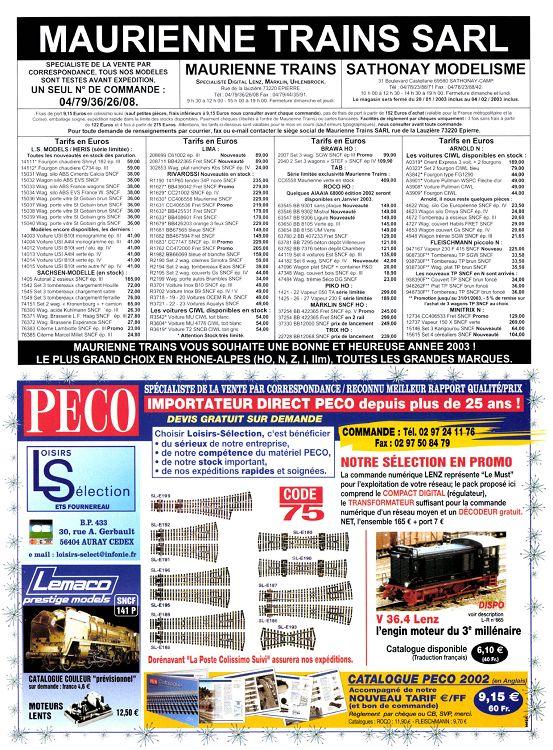 Janvier N°666 2003 Revue Page Loco 11 10 0N8nmOvw