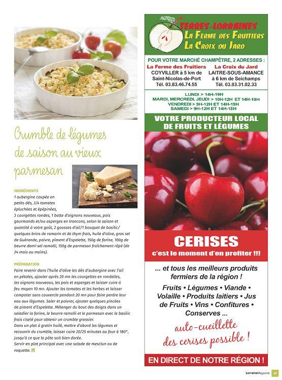 Lorraine Magazine n°96 14 jun 2017 - Page 12 - 13 - Lorraine